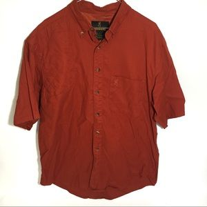 Browning Shooting Shirt Button Up Large Hunting L
